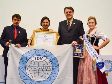A Rota do Sol recebe reconhecimento internacional da cultura popular pela The International Organiza