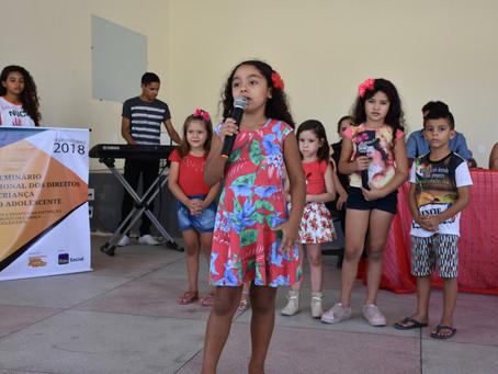 Pisada do Sertão realiza Seminário Regional dos Direitos da Criança e do Adolescente