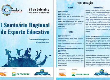 I Seminário de Regional de esporte Educativo