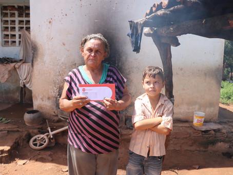 A Pisada do Sertão em parceria com a Gerando Falcões irá beneficiar 250 famílias com cestas básicas.