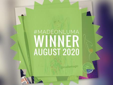 Made On Luma - Gewinner des Monats August