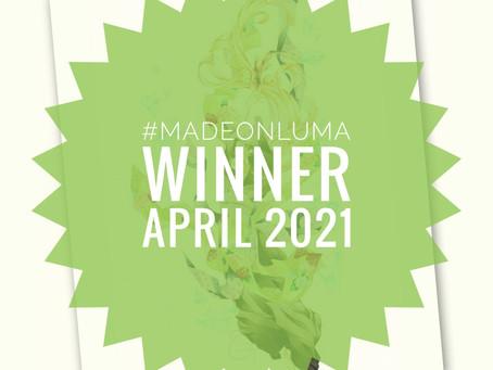 Made On Luma - Gewinner des Monats April