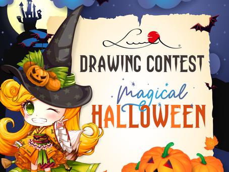 """Luma Mal- und Zeichenwettbewerb """"Magical Halloween"""""""