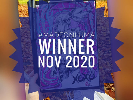Made On Luma - Gewinner des Monats November