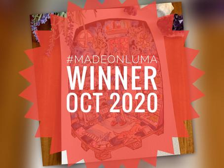 Made On Luma - Gewinner des Monats Oktober