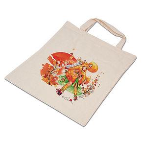 Luma Stofftasche aus Baumwolle  mit Luma-Motivdruck
