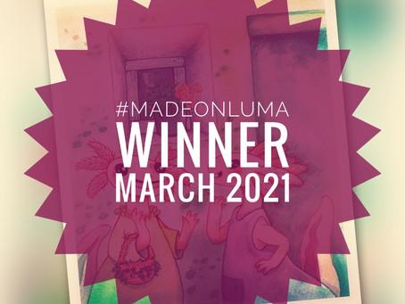 Made On Luma - Gewinner des Monats März