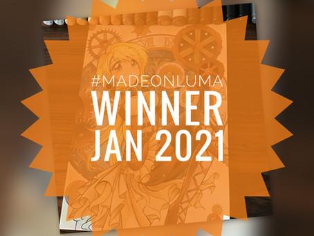 Made On Luma - Gewinner des Monats Januar