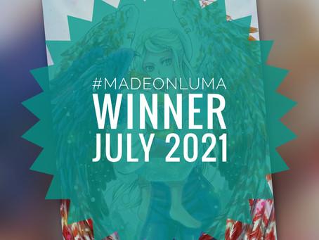 Made On Luma - Gewinner des Monats Juli