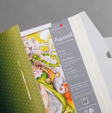 "Luma Designbox ""Aquarell"" – geöffnet"