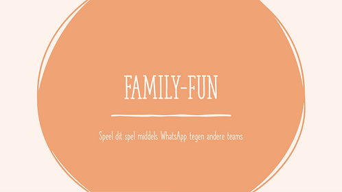 Family Fun; WhatsApp-spel