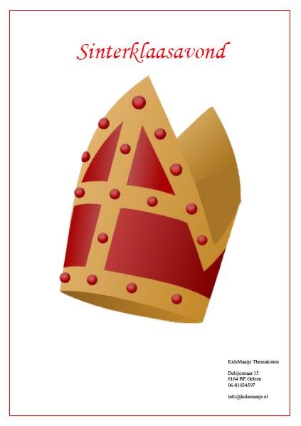 Draaiboek Enveloppenspel Sinterklaas