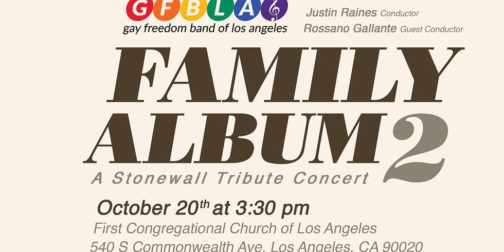 Family Album 2 - GBFLA Fall 2019 Concert