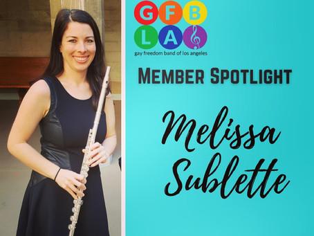 GFBLA Member Spotlight - Melissa Sublette