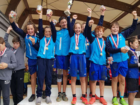 U12 wird Schweizermeister! U10 mit tollem 5. Rang