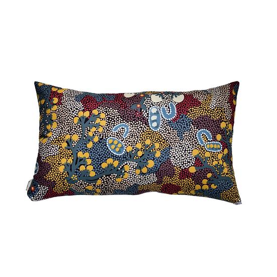"Cushion cover 30x50 - ""Bush sultana"""