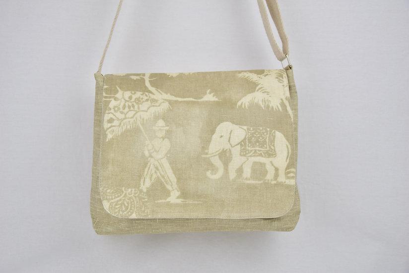 "Cross-body bag Lucie - ""mandir beige"""