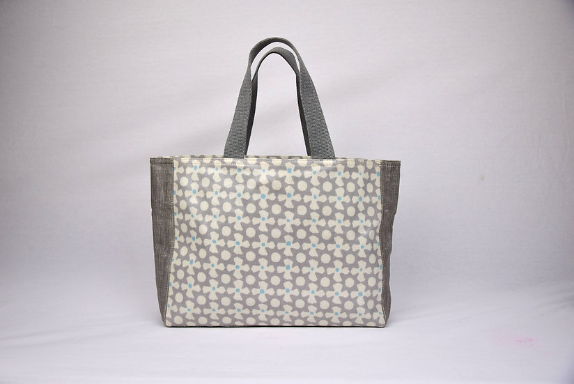 "Handbag Anais - ""Propeller grey"""
