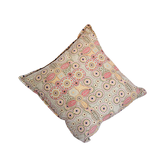 "Cushion cover - ""Spirit place"" sand"