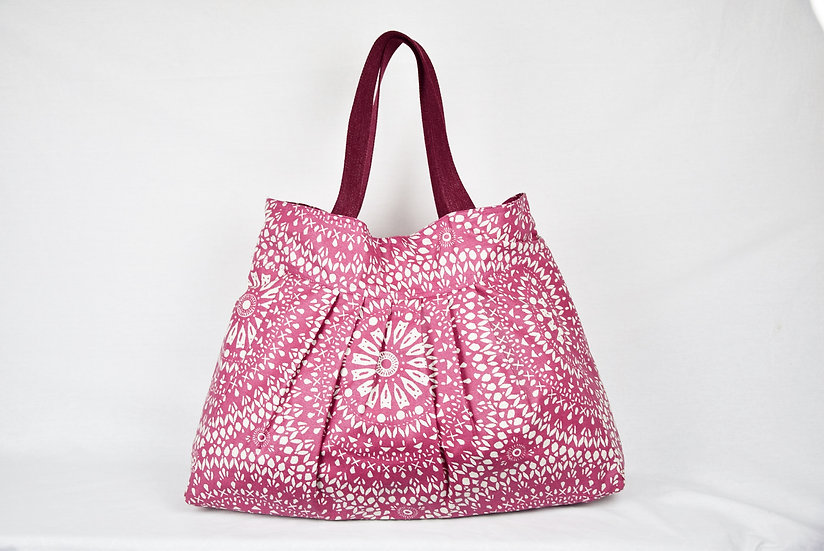 "Handbag Raphaelle - ""rose"""