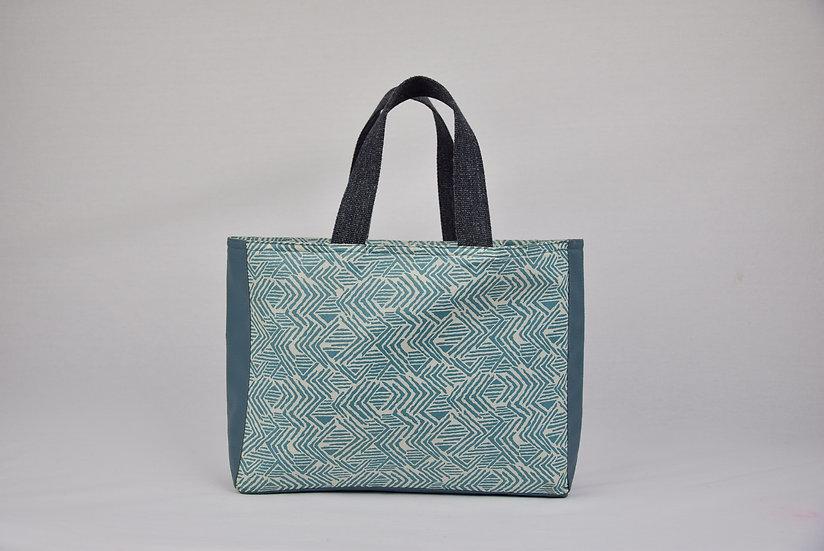 "Handbag Anais - ""Maya teal"""
