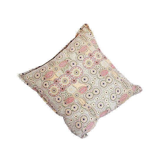 "Cushion cover 45x45 - ""Spirit place"" sand"