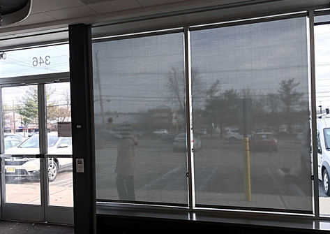 Verizon Wireless Roller Shades