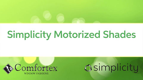 Simplicity Rechargeable Motorization