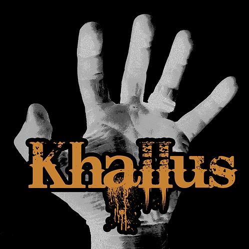 "Khallus 4"" x 4"" sticker"