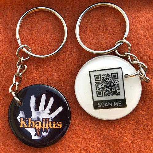 "1""Resin Keychain"