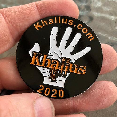 Khallus 2020 Challenge Coin