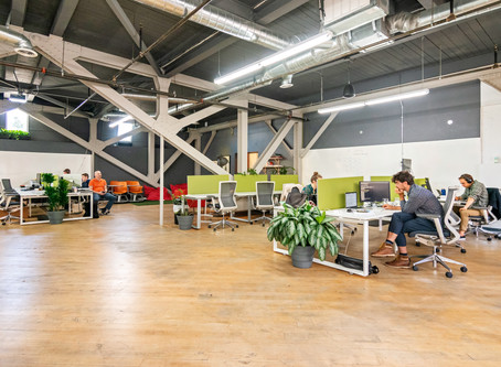 Why a lot of entrepreneurs chose to work at a coworking space?