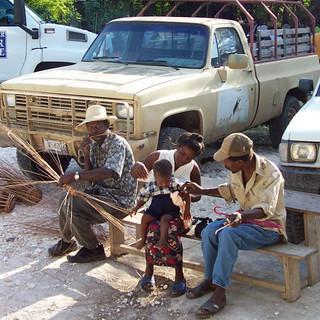 Basket making in Haiti.JPG
