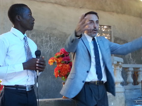 Preaching the Word on Sunday.