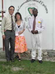 Pastors Jeff, Cindi & Prince