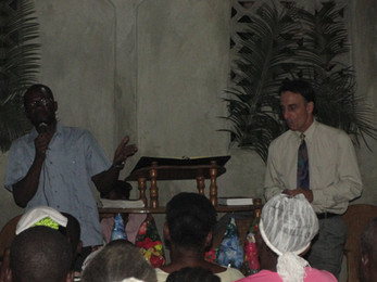 Preaching in Houck