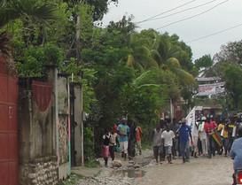 A day in Haiti