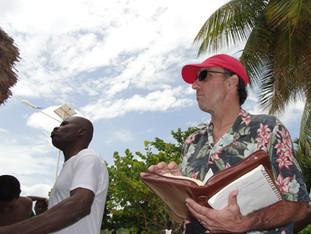 Sermon on the Sand in Port Salut
