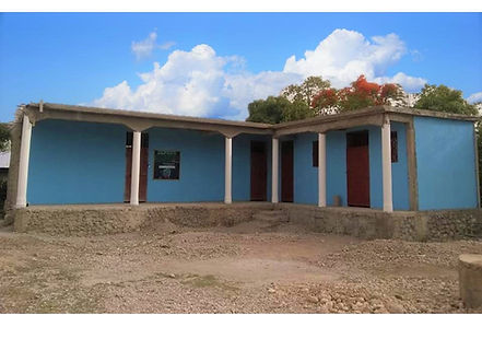 School painted, Haiti, Heart of the Fath
