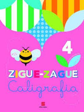 Livro de Caligrafia - Zigue-Zague – 4º ano