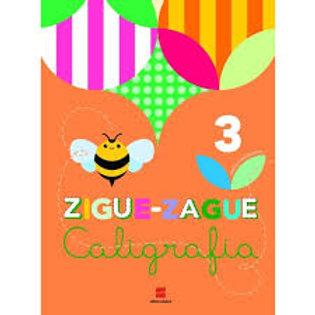 Livro de Caligrafia - Zigue-Zague – 3º ano