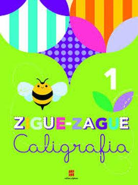 Livro de Caligrafia - Zigue-Zague – 1º ano