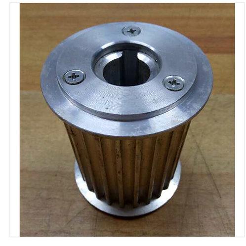 Assembler fabric cutter belt Synchronising Wheel