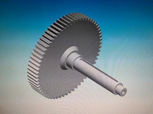 Selector movement Gear Shaft