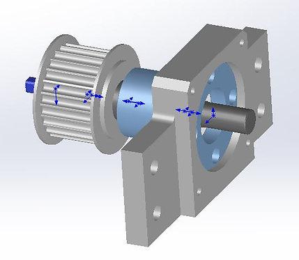 Synchronous wheel Set for Glue system (Belt)