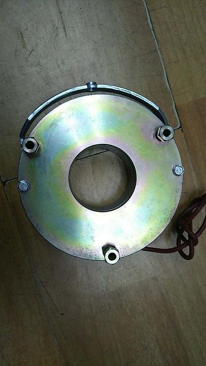 Wire payoff brake installation part