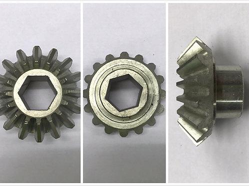Gear for assembler exit green belt with shoulder