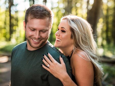 Burr Oaks Engagement   Katelynn and Nick