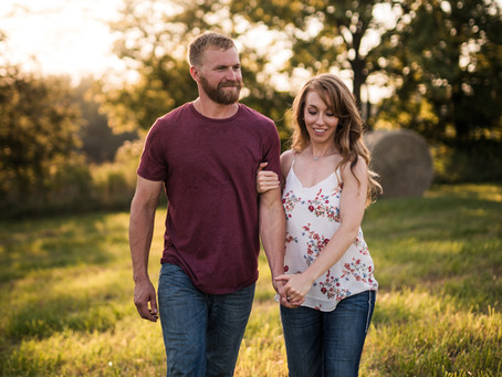 Countryside Engagement | Ashlie & Brandon