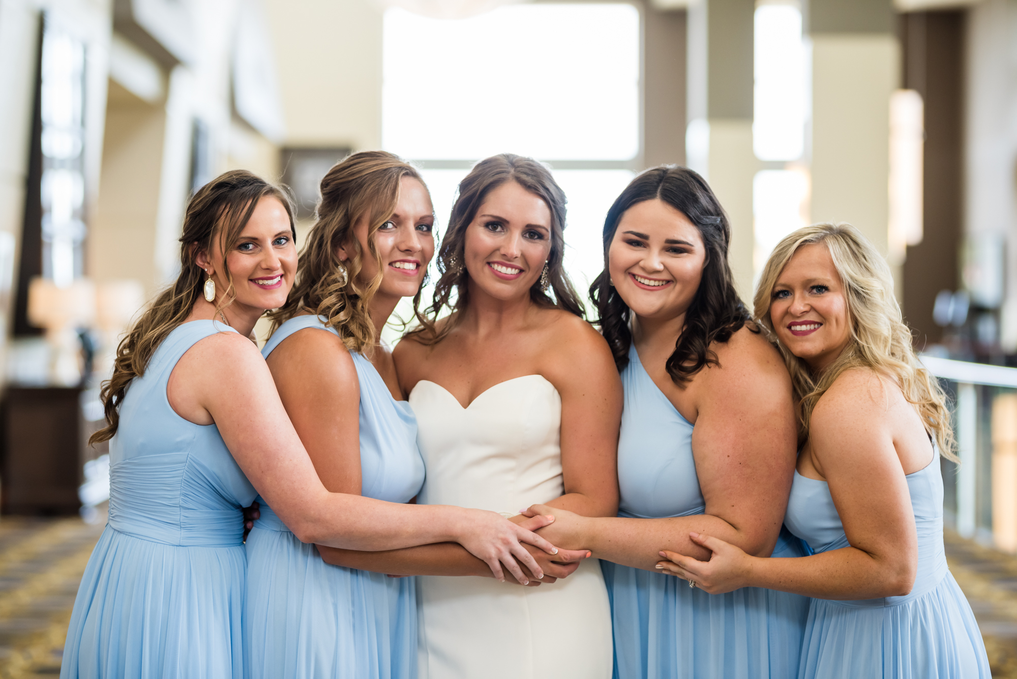 Bridesmaids KC Wedding Photo